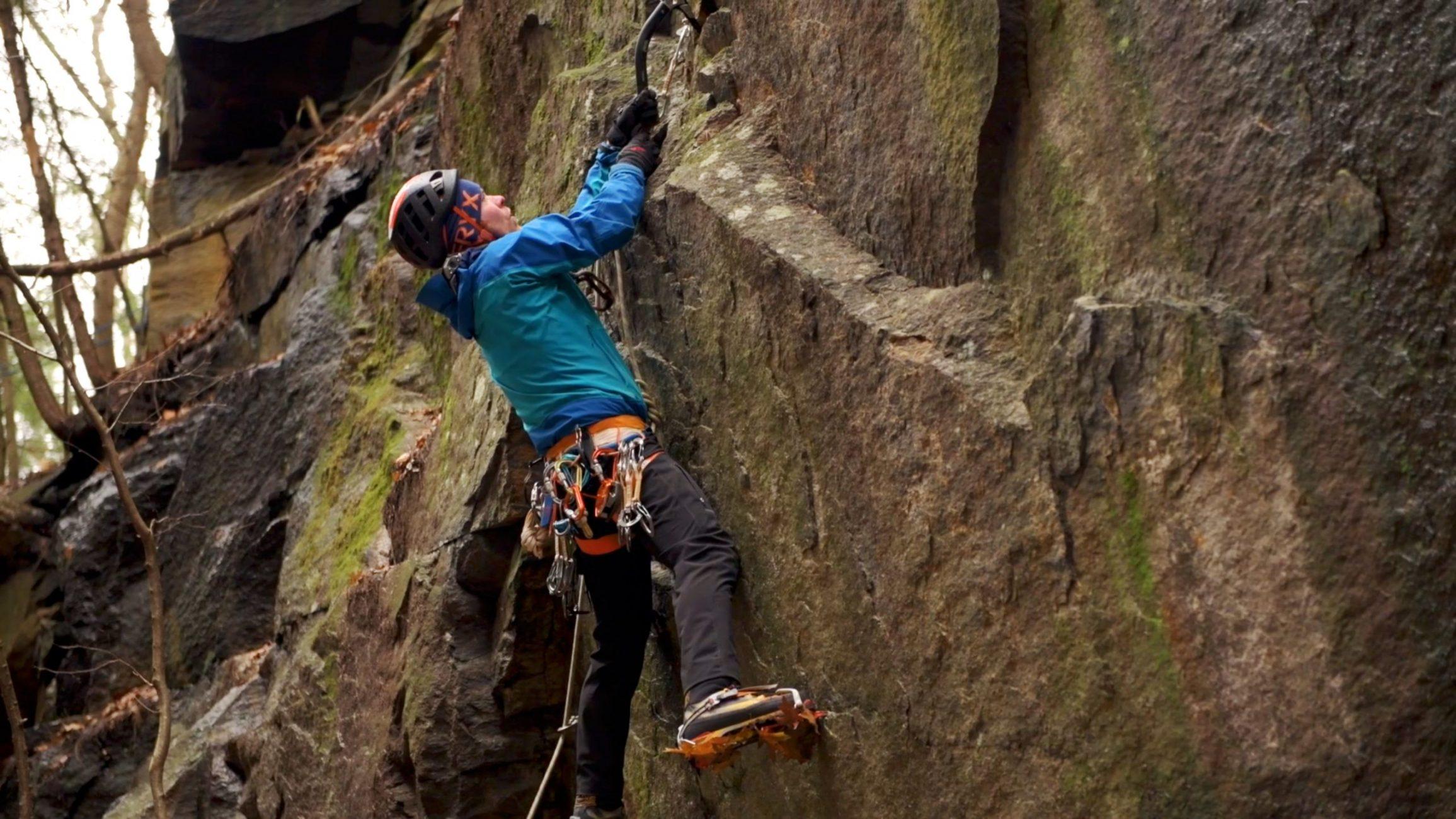 Ice Climbing + Drytooling Keene New Hampshire