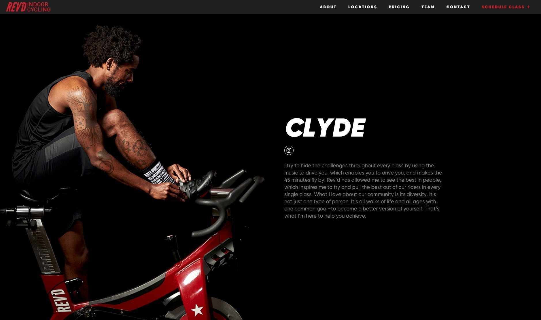 Rev'd Instructor Page Clyde