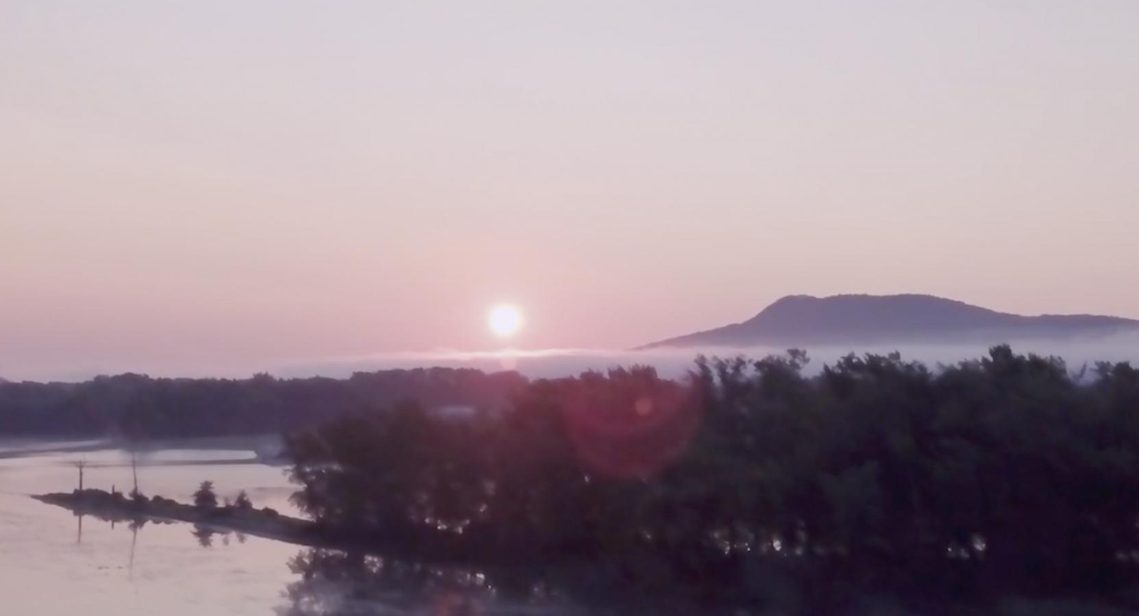 Sunrise in the Pioneer Valley