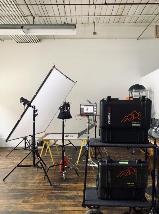 Behind the scenes product photography in studio with Matt Baldelli Photographer