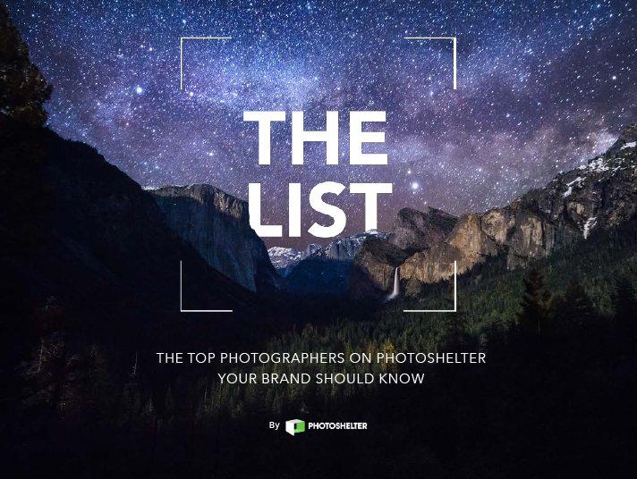 """Matt Baldelli's Adventure Photography Award for Photoshelter's """"The List"""""""