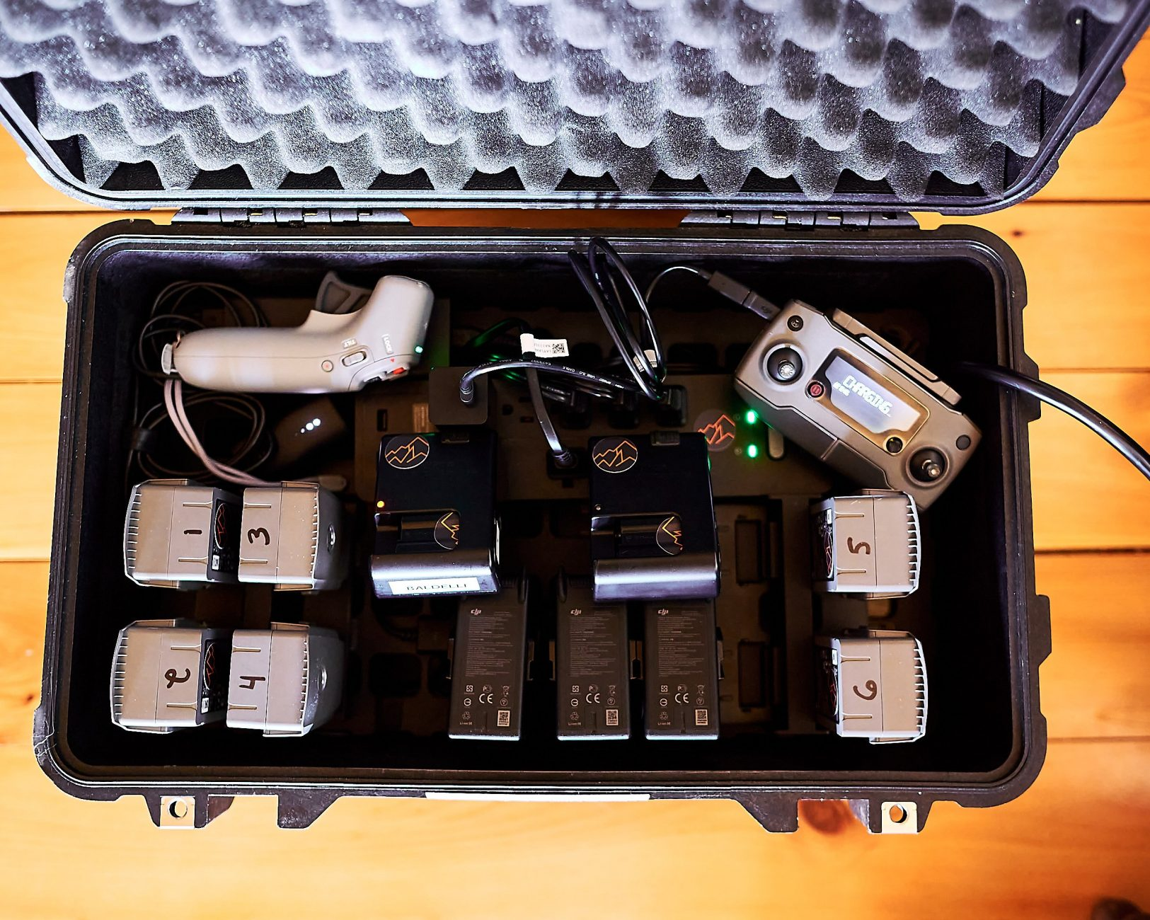 Pelican Case Charging System for Photographers and Filmmakers