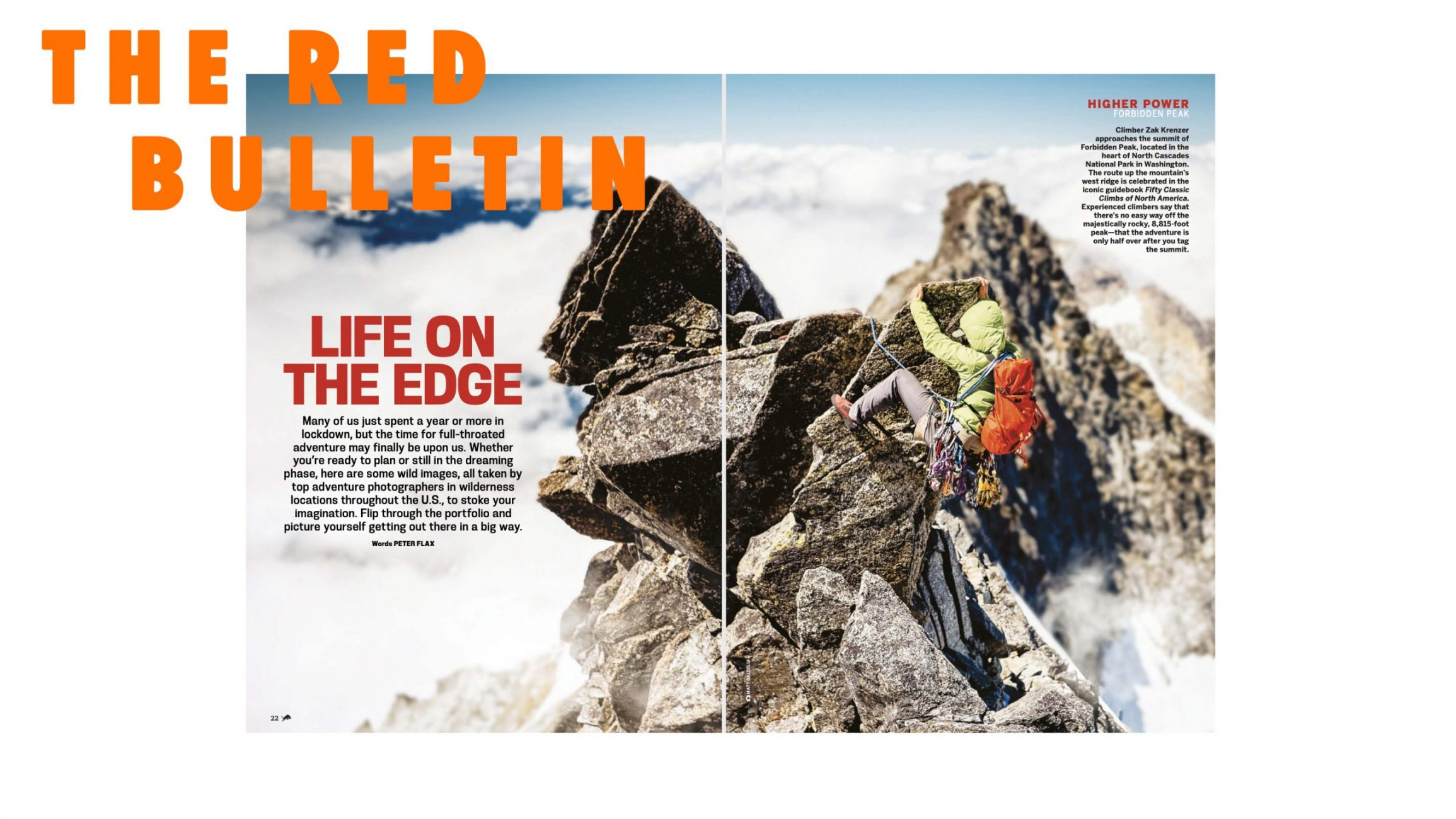 Red Bulletin Adventure + Climbing Photography